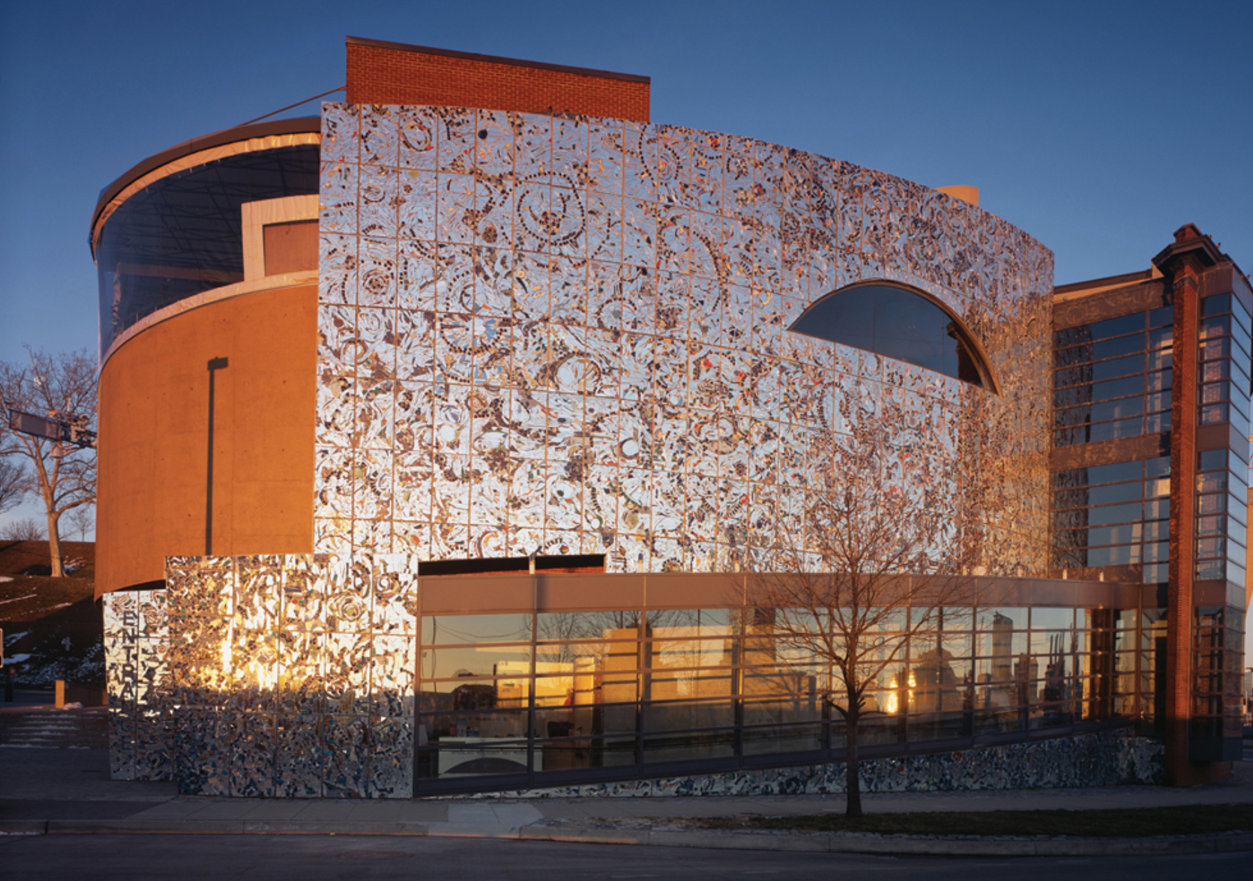 Exterior of The American Visionary Art Museum